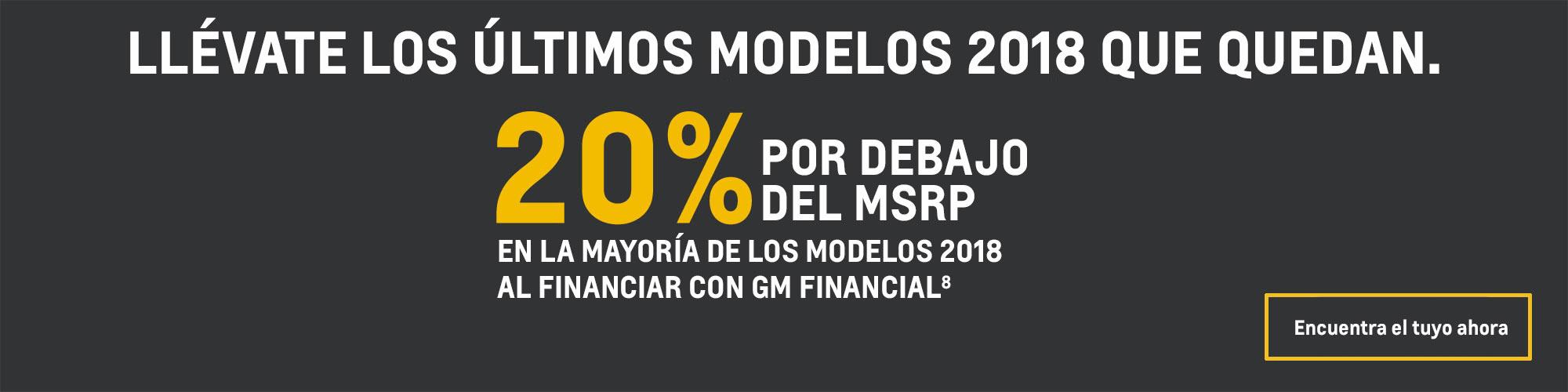 Chevrolet Sonic 2018: 20% por debajo del MSRP