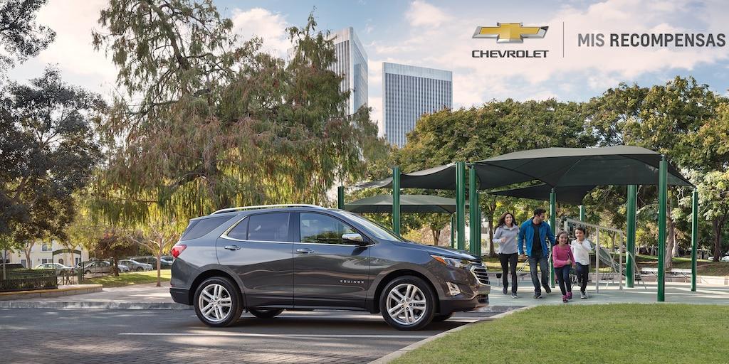 Página de inicio de Chevrolet: Mis recompensas