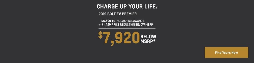 Bolt EV 2019: $7,920 Por debajo del MSRP