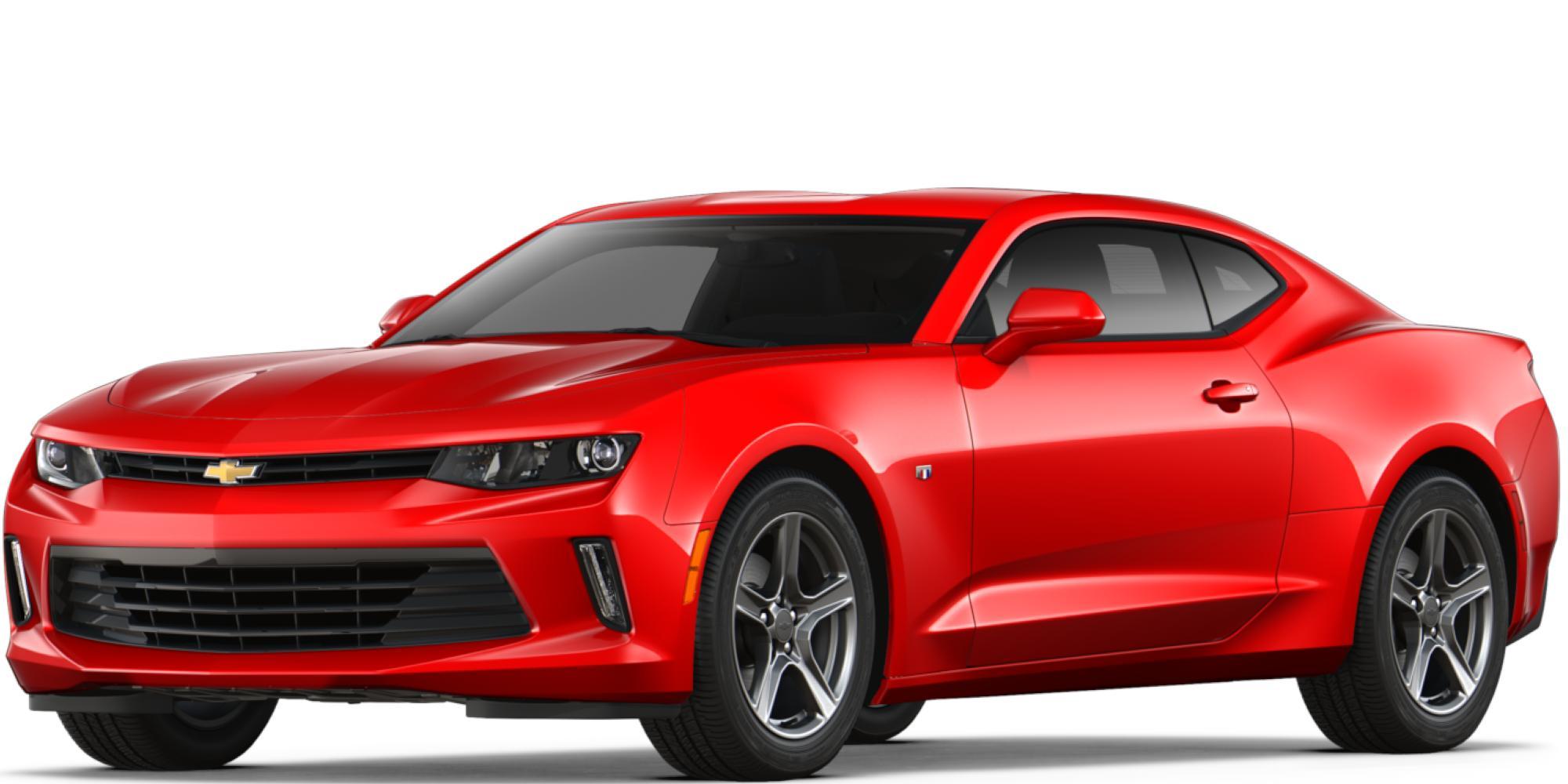 Auto deportivo Camaro 2018: Vista frontal