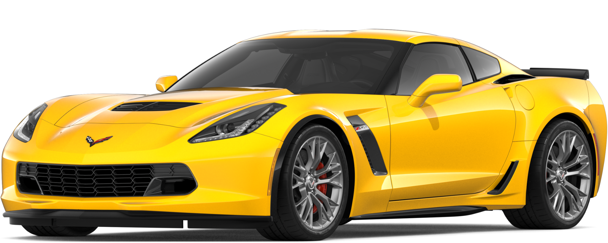 Superauto Corvette Z06 2019: Lateral