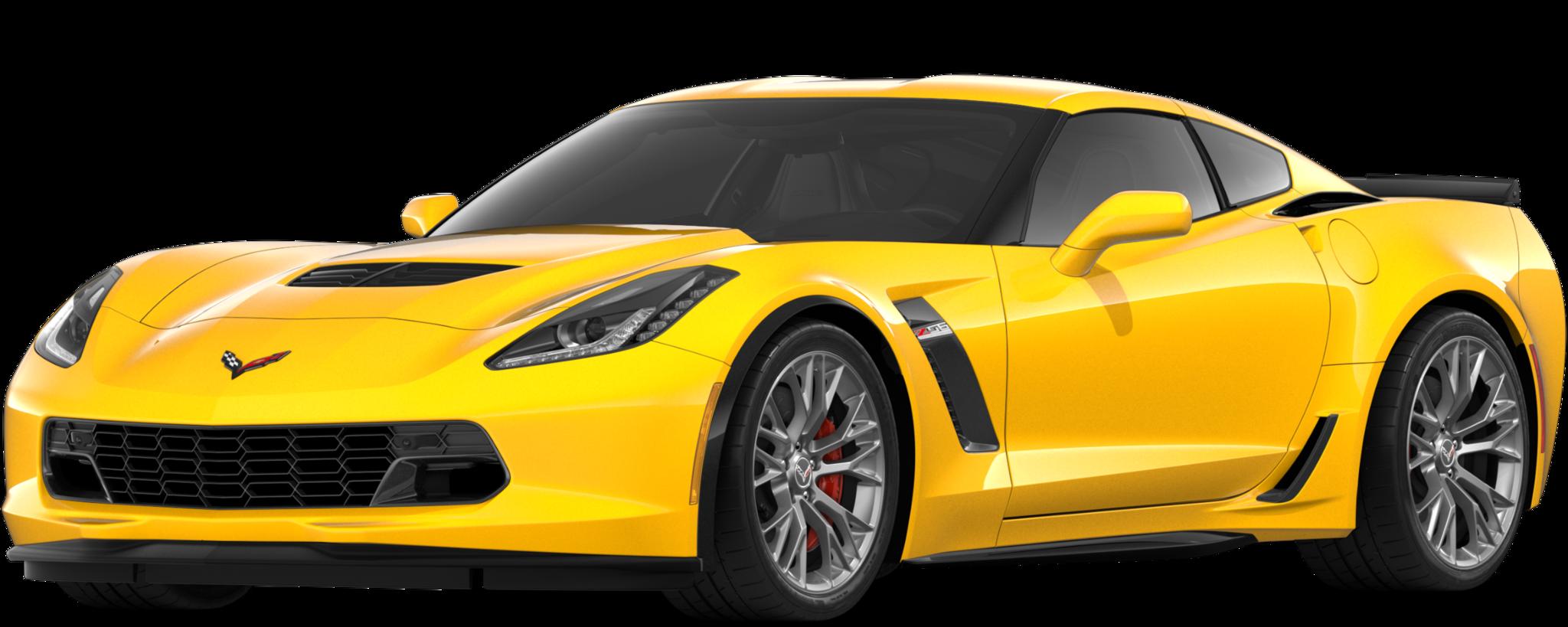 Auto deportivo Corvette Z06 2019: Lateral